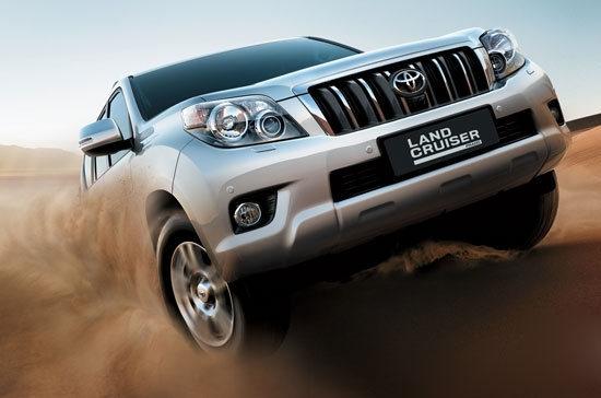 2013 Toyota Land Cruiser Prado 4.0 GC