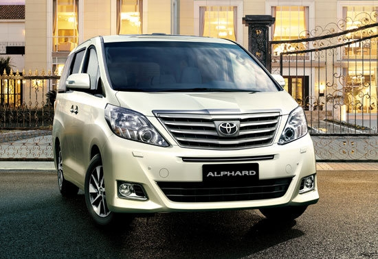 2012 Toyota Alphard 2.4