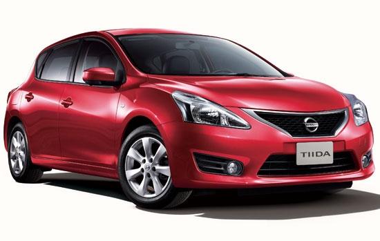 2013 Nissan Tiida 5D