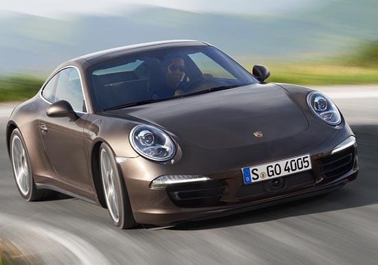 2013 Porsche 911 Carrera 4 S Coupe