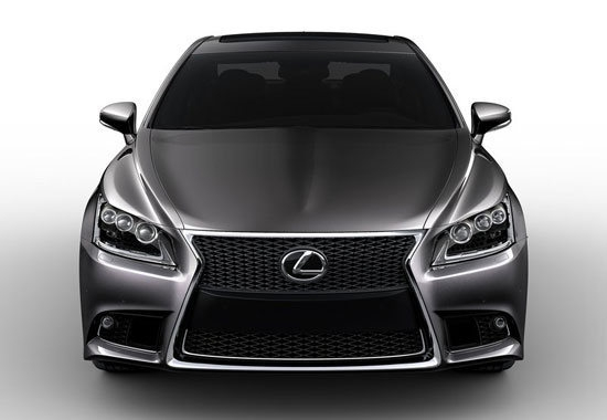 2013 Lexus LS 600h F-Sport