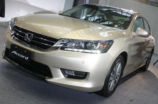 2013 Honda Accord(NEW) 2.4 VTi Luxury