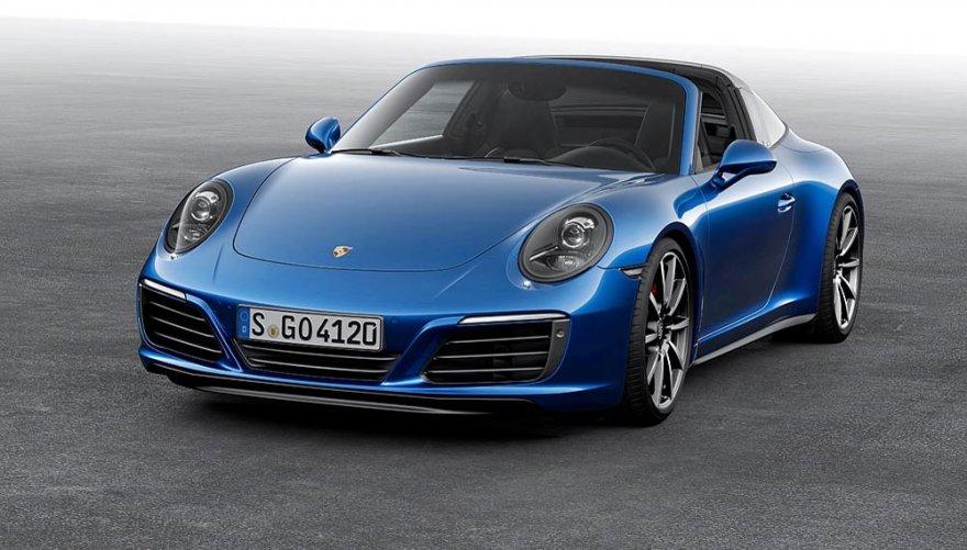2018 Porsche 911 Targa 4S