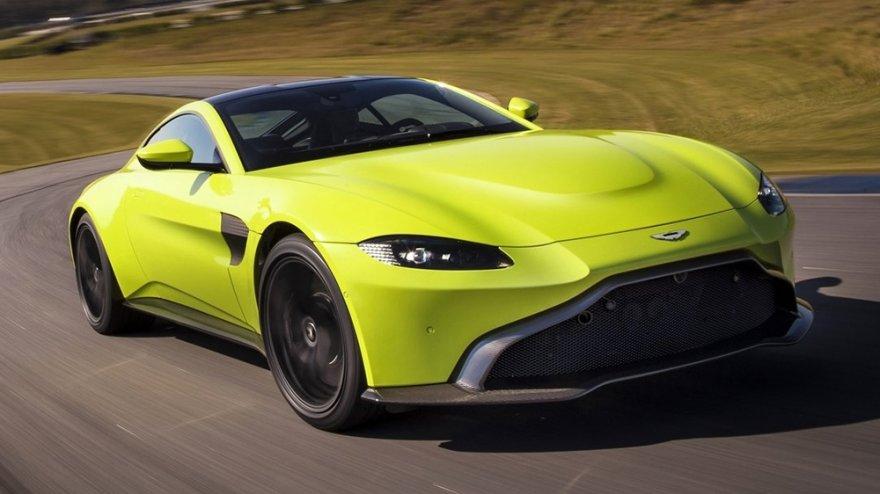 2018 Aston Martin Vantage 4.0 V8