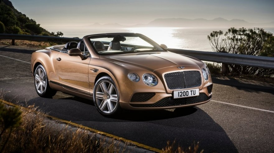 2017 Bentley Continental GT Convertible 6.0 W12