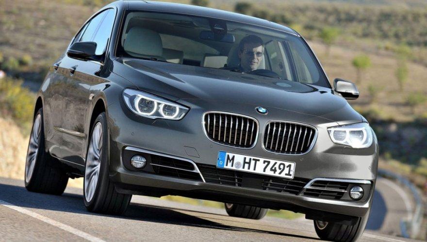 2014 BMW 5-Series GT 520d