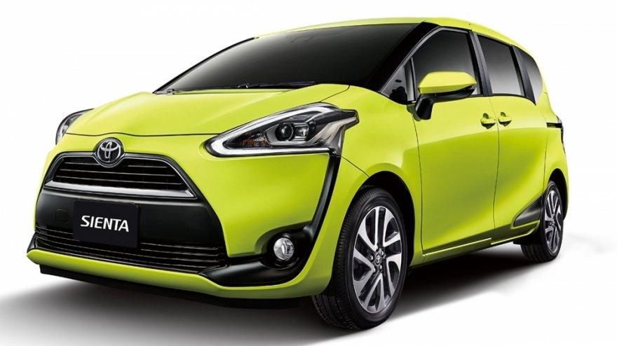 2017 Toyota Sienta 5人座豪華
