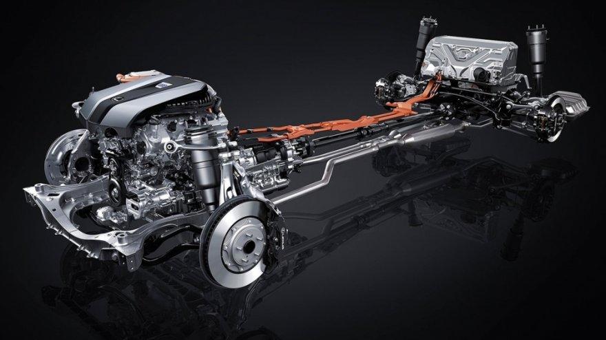 2019 Lexus LS 500h F Sport版