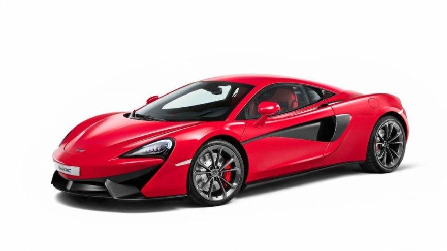 2017 McLaren 540 C