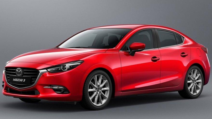2017 Mazda 3 4D