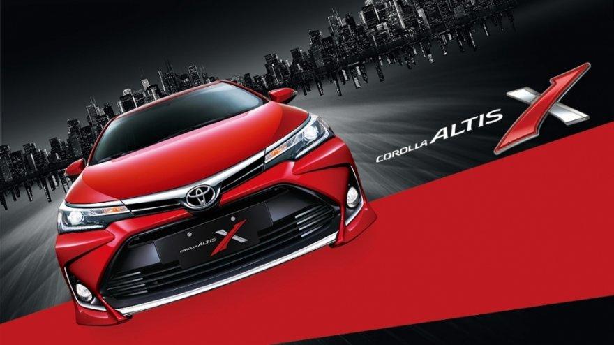 2017 Toyota Corolla Altis 1.8 X