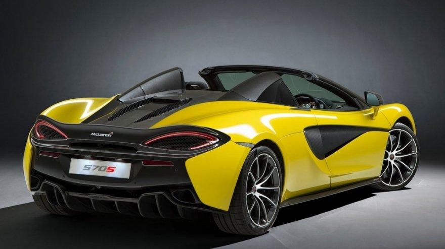 2019 McLaren 570 S Spider V8