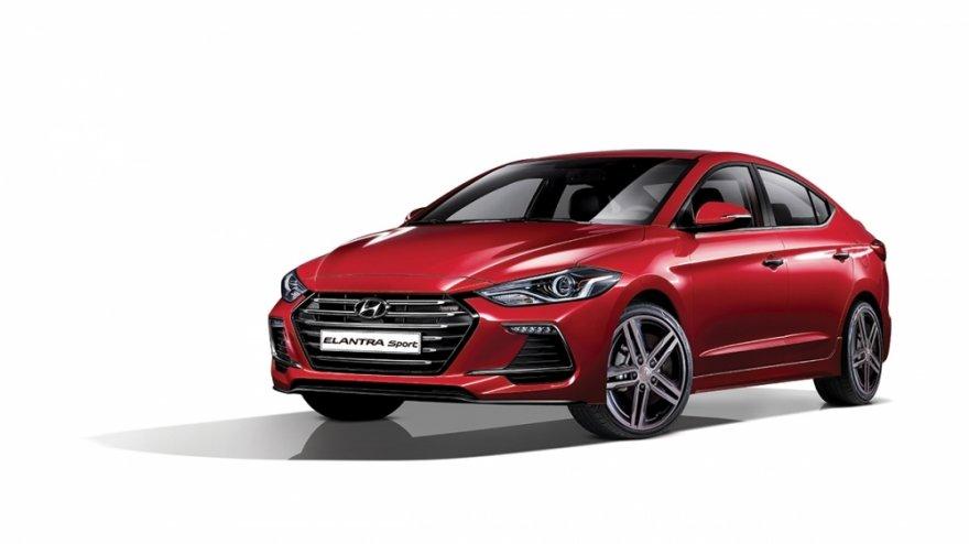 2017 Hyundai Elantra(NEW) Sport