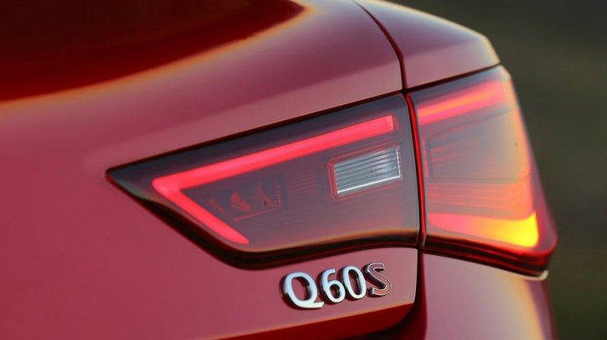 2019 Infiniti Q60 S 3.0t Red Sport