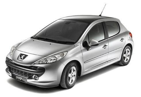 Peugeot_207_1.6 5D全景天窗版