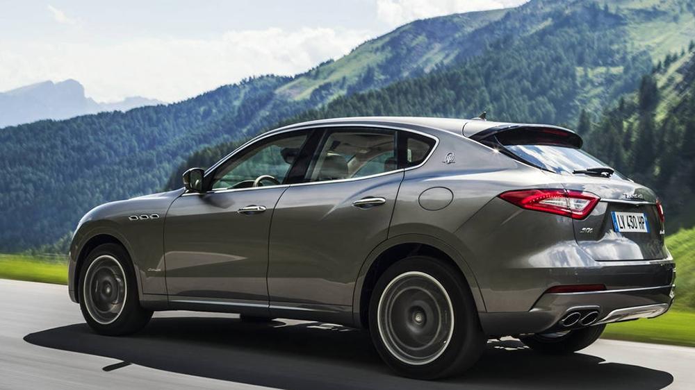 2018 Maserati Levante S GranLusso  Zegna Edition