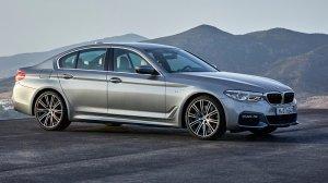 2018 - BMW 5-Series Sedan
