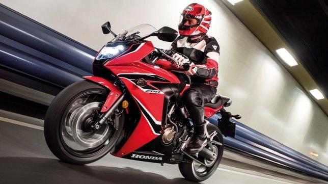 2017 Honda CBR650 F