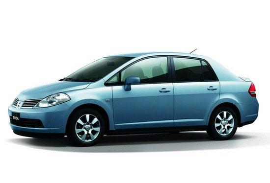 2011 Nissan Tiida 4D