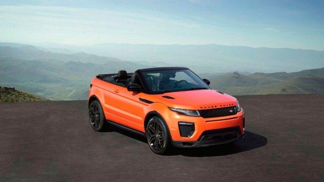 2018 Land Rover Range Rover Evoque Convertible