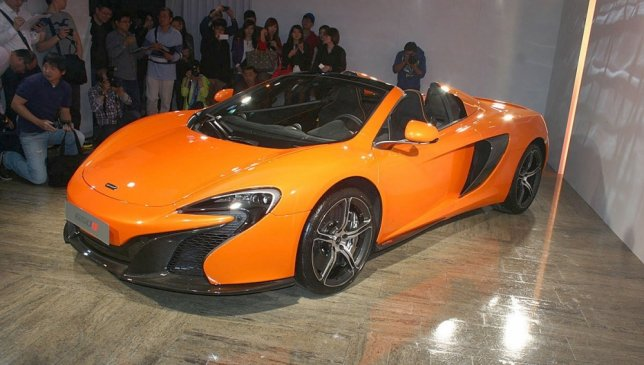 2014 McLaren 650 S Spider
